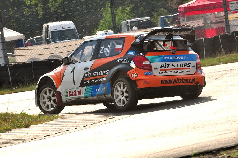 Łukasz Zoll wygrywa IV rundę Rallycross Cup