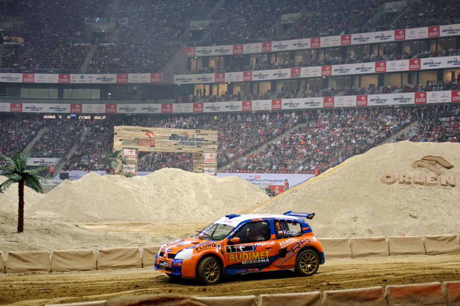 Rallycross Cup zrobił Show na Narodowym dzięki Adamowi, Piotrowi, Konradowi i Felixowi