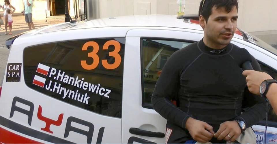 Paweł Hankiewicz w Rallycross Cup