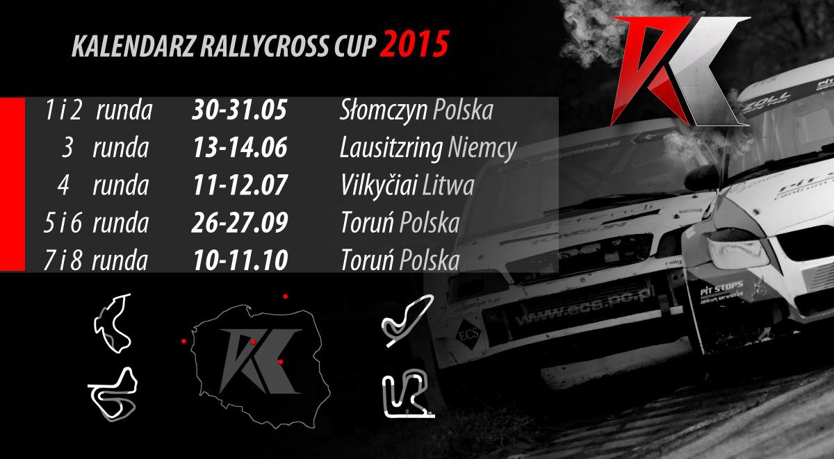 Kalendarz Rallycross Cup 2015