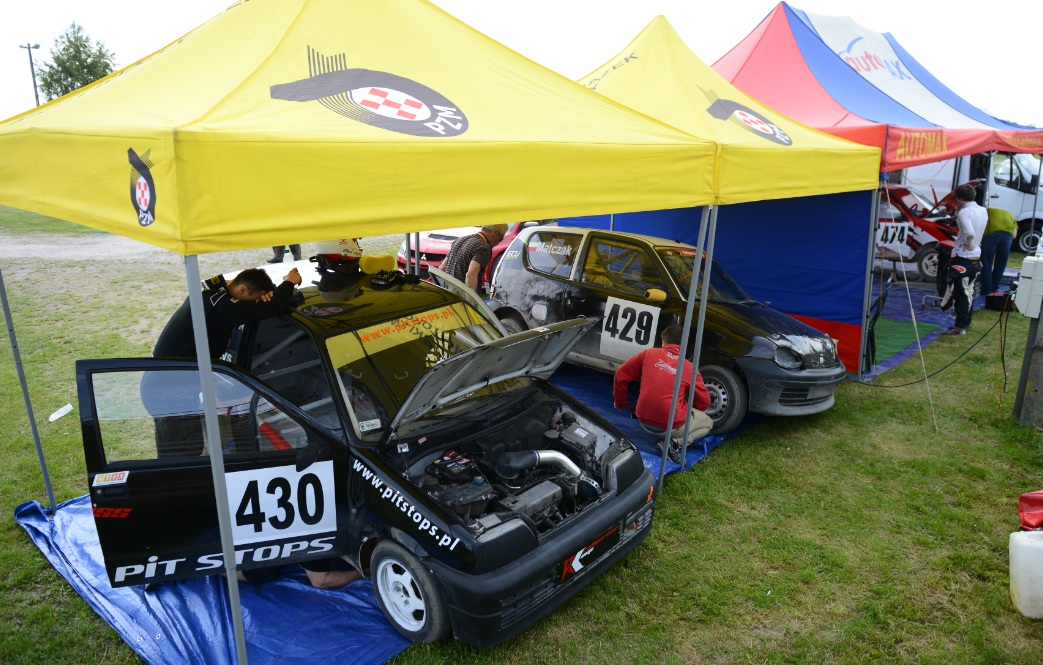 I i II runda Rallycross Cup w Słomczynie