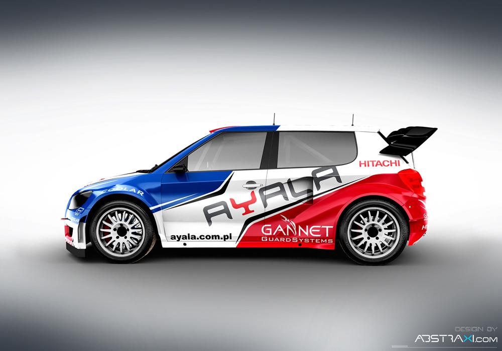 Skoda Fabia MKII SuperCar Rallycross Cup - Paweł Hankiewicz